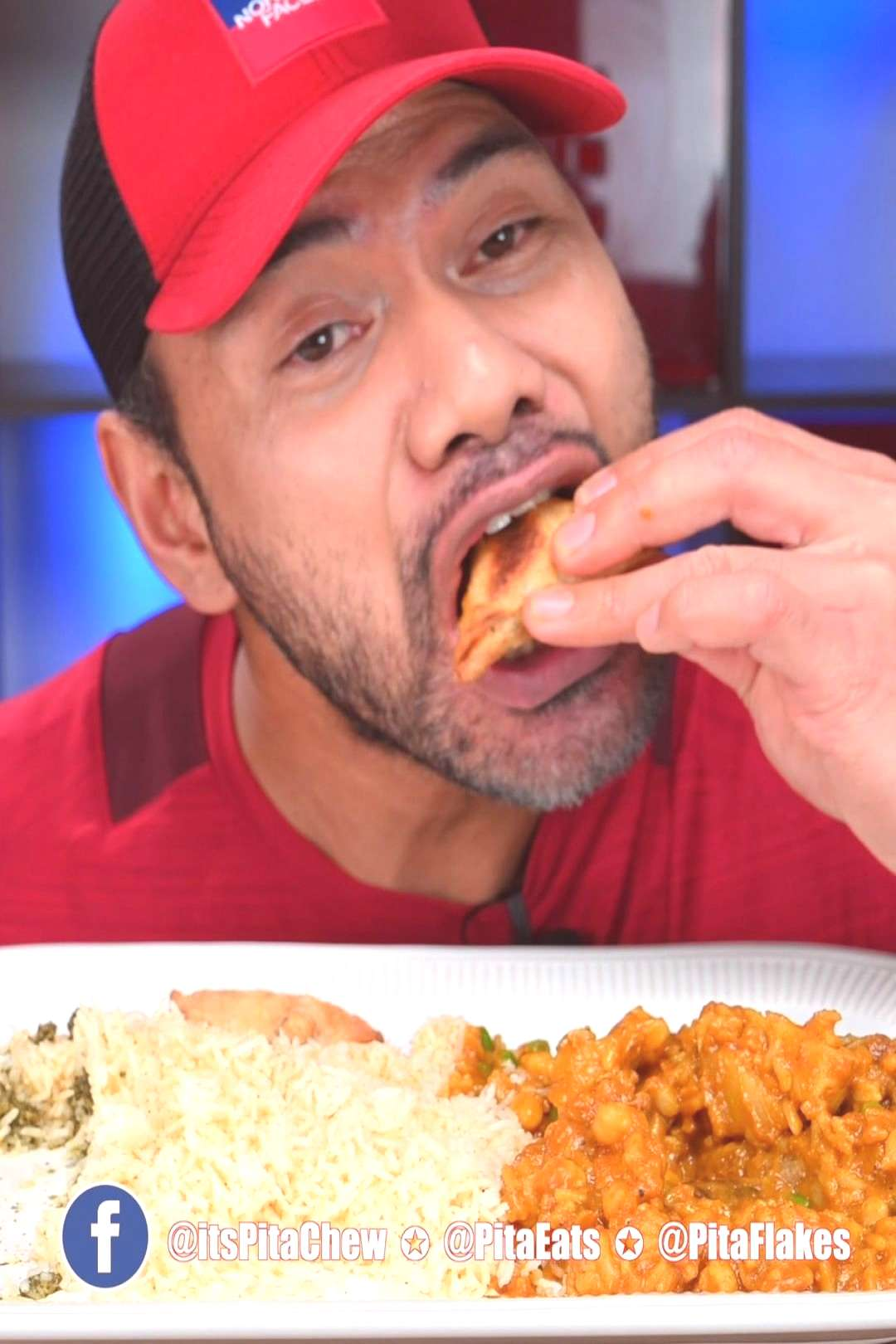 lamb-less curry...Indian foods. Watch full video (link in bio) Th