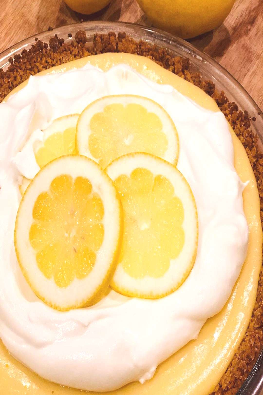 Last night I made Lemon Pie from the cookbook and it is DELICIOUS