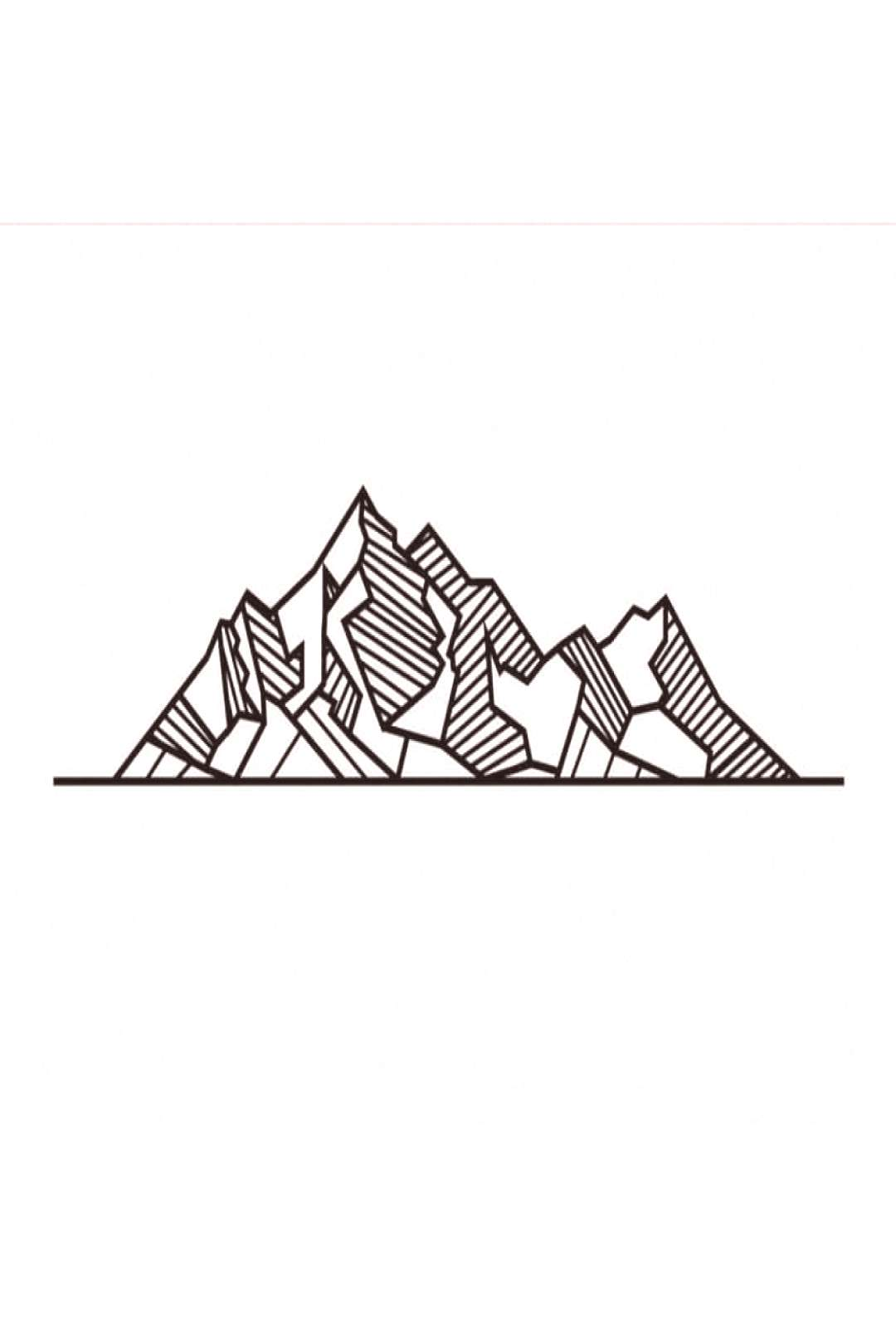Mountain time Follow plz♡ . . . #simple #draw #drawing #easy #d