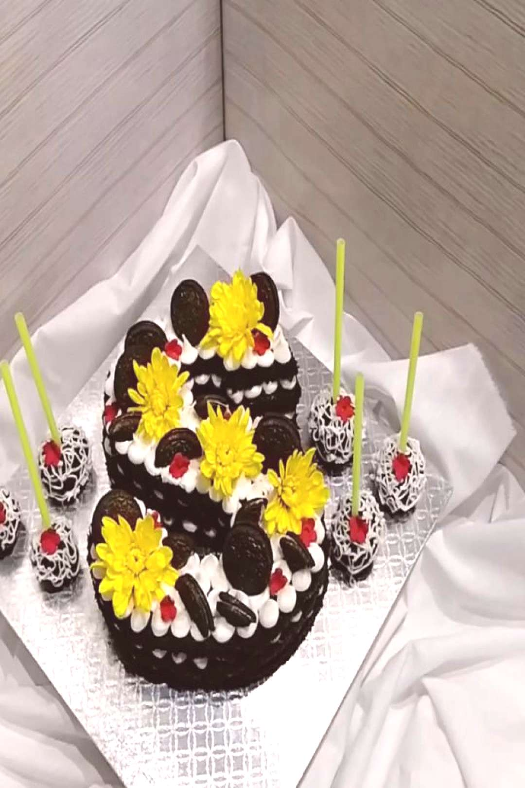 My birthday cake, new video is up on my channel. Enjoy watching a