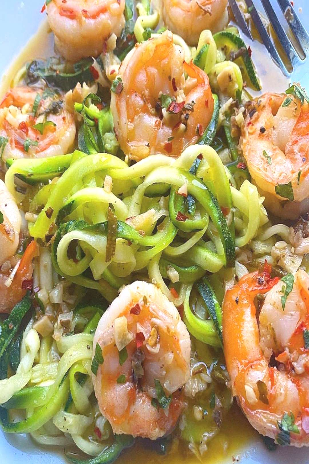 My dinner last night was shrimply delicious! A healthier version