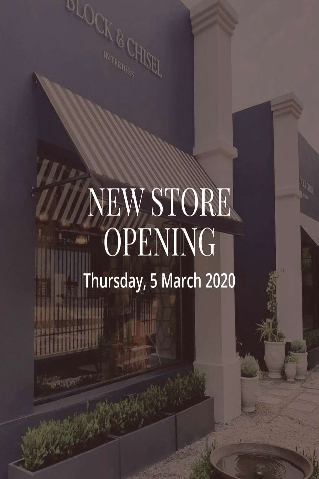 OPENING SOON Just one more day until our brand new store at 155 J
