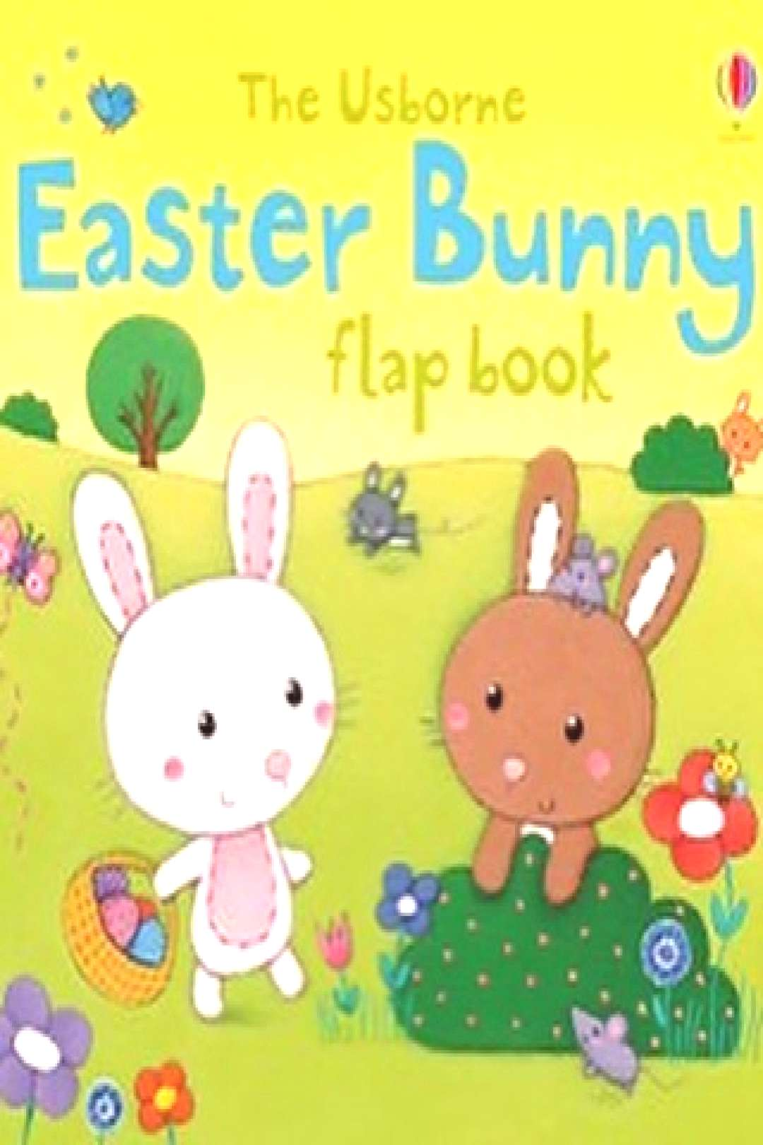possible text that says 'The Usborne Easter Bu