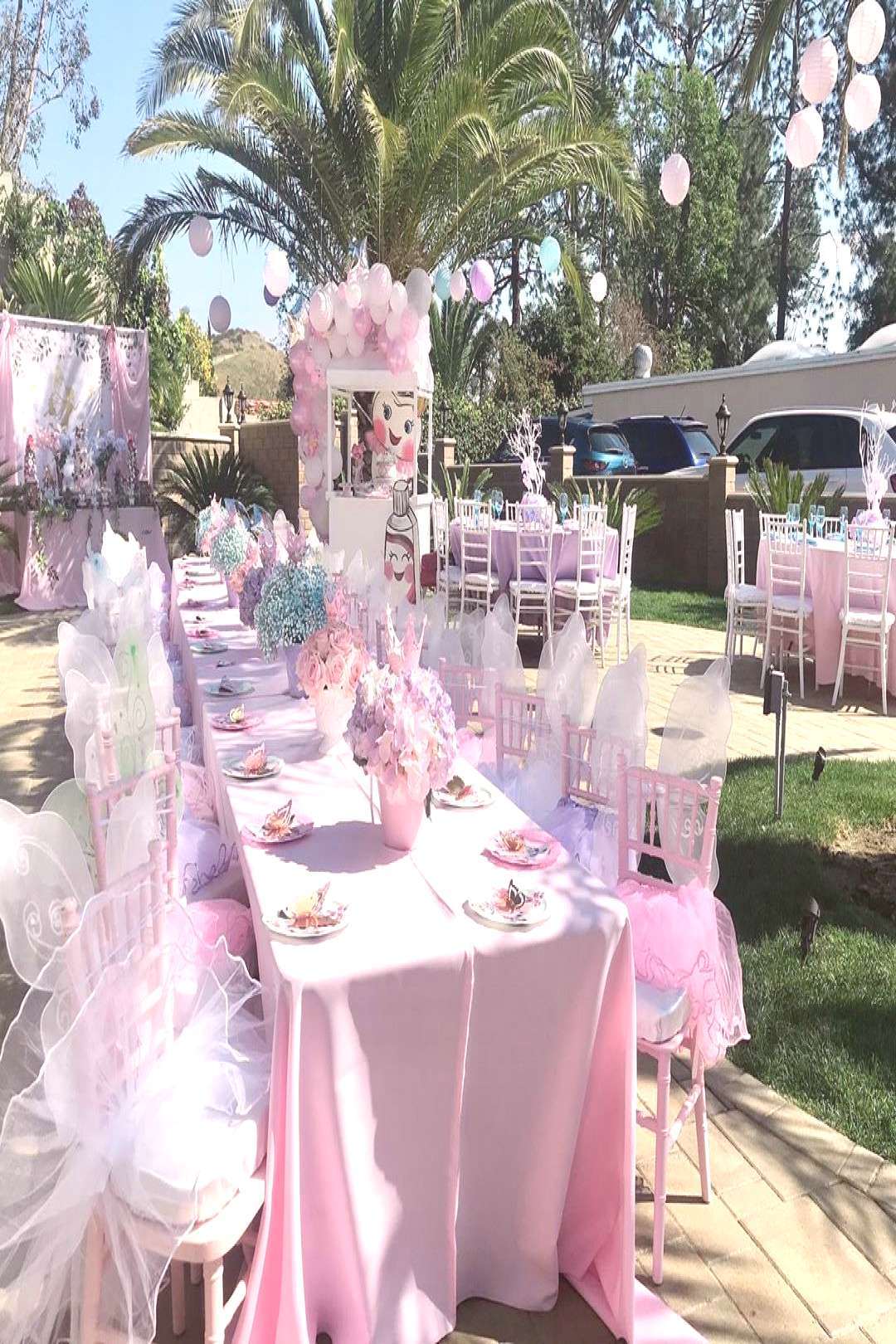 Pretty in pink... prettier with purples and blues Event design/pl