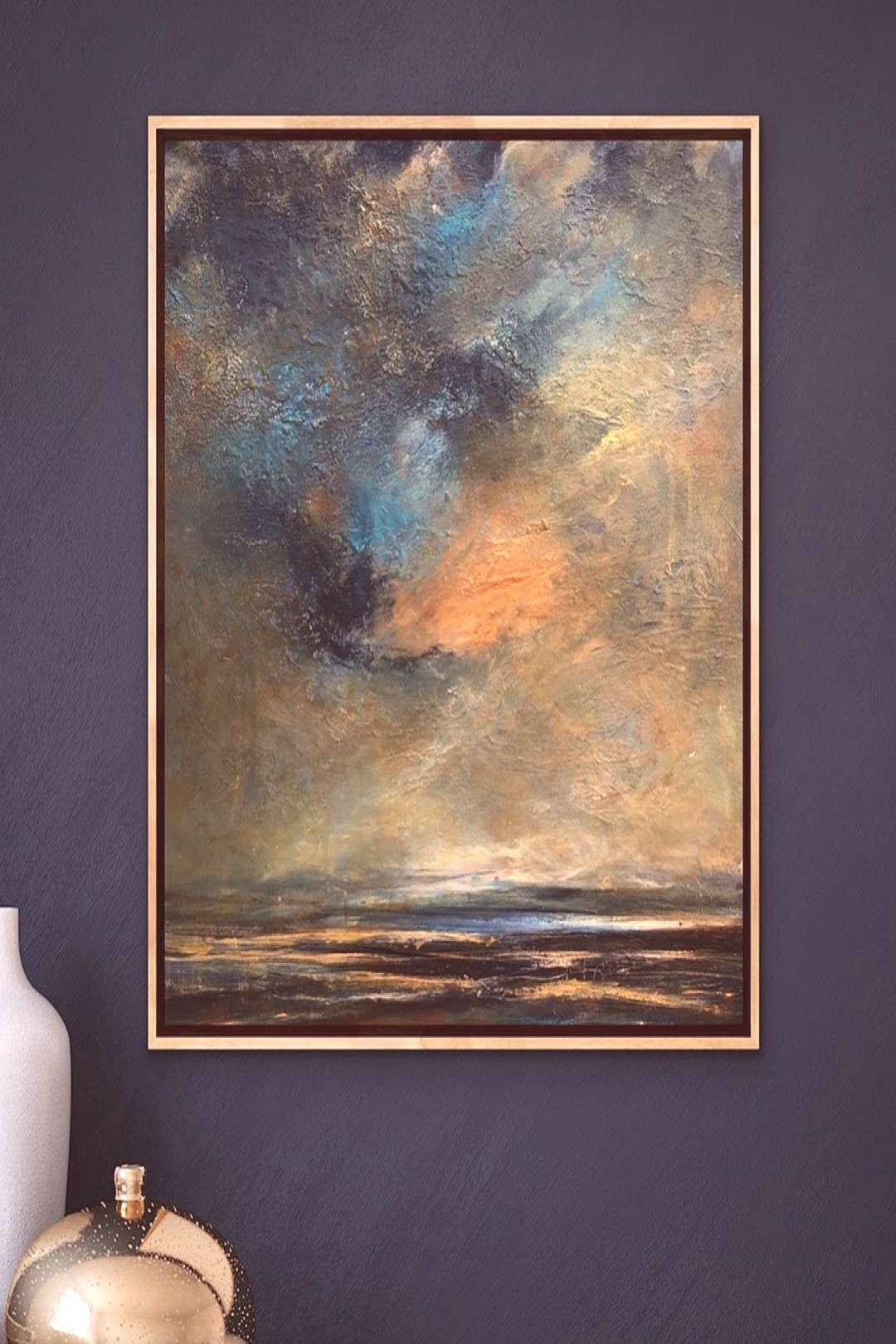 Sea spray Dawn. This piece is captured memory from an early morni