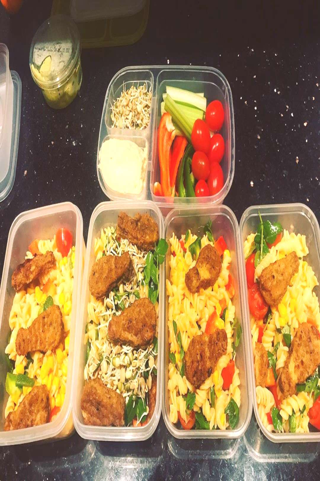 Some of my meals from the week. Keeping it simple its been one h