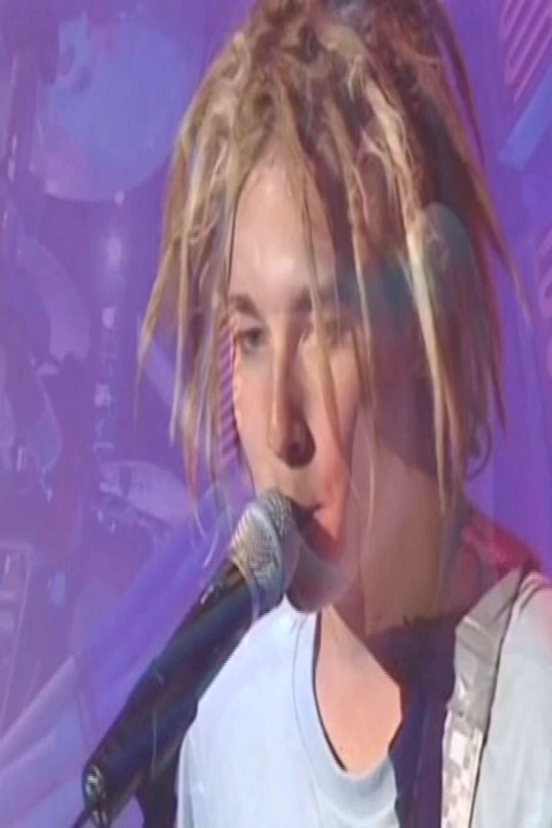 song: freak live at ARIA Awards in 1997 * * * * * * #nirvana #pea