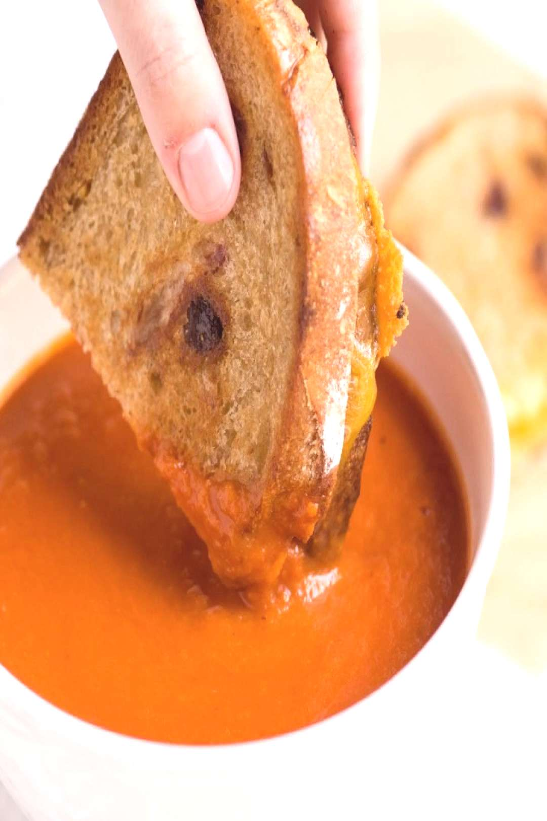 ️This is our favorite tomato soup recipe! You wouldn't think th