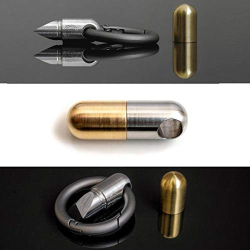 Tiny Cutting Tool Portable Capsule Cutter with Keychain Ring