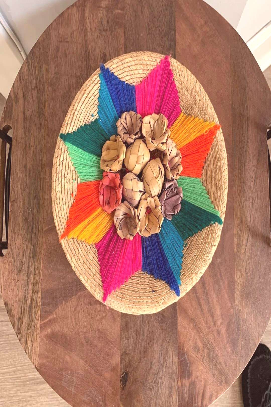Vintage handwoven tortilla basket. Perfect for taco Tuesday! $12