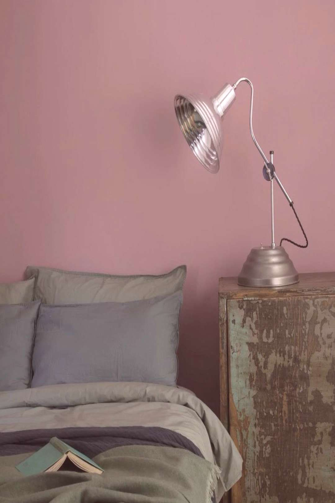 Vintage lights like this restored 1940s medical therapy lamp not