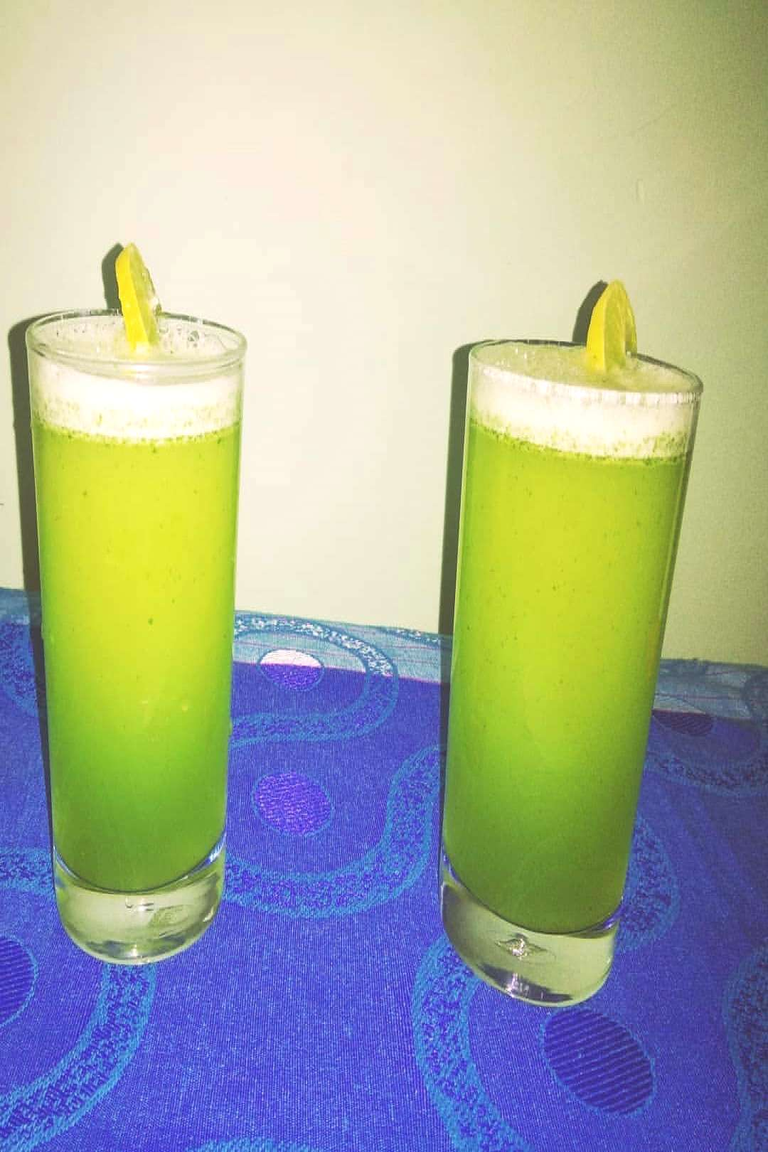 Virgin Mint mojito/basic mocktail(s) Serves(2 glasses) INGREDIENT