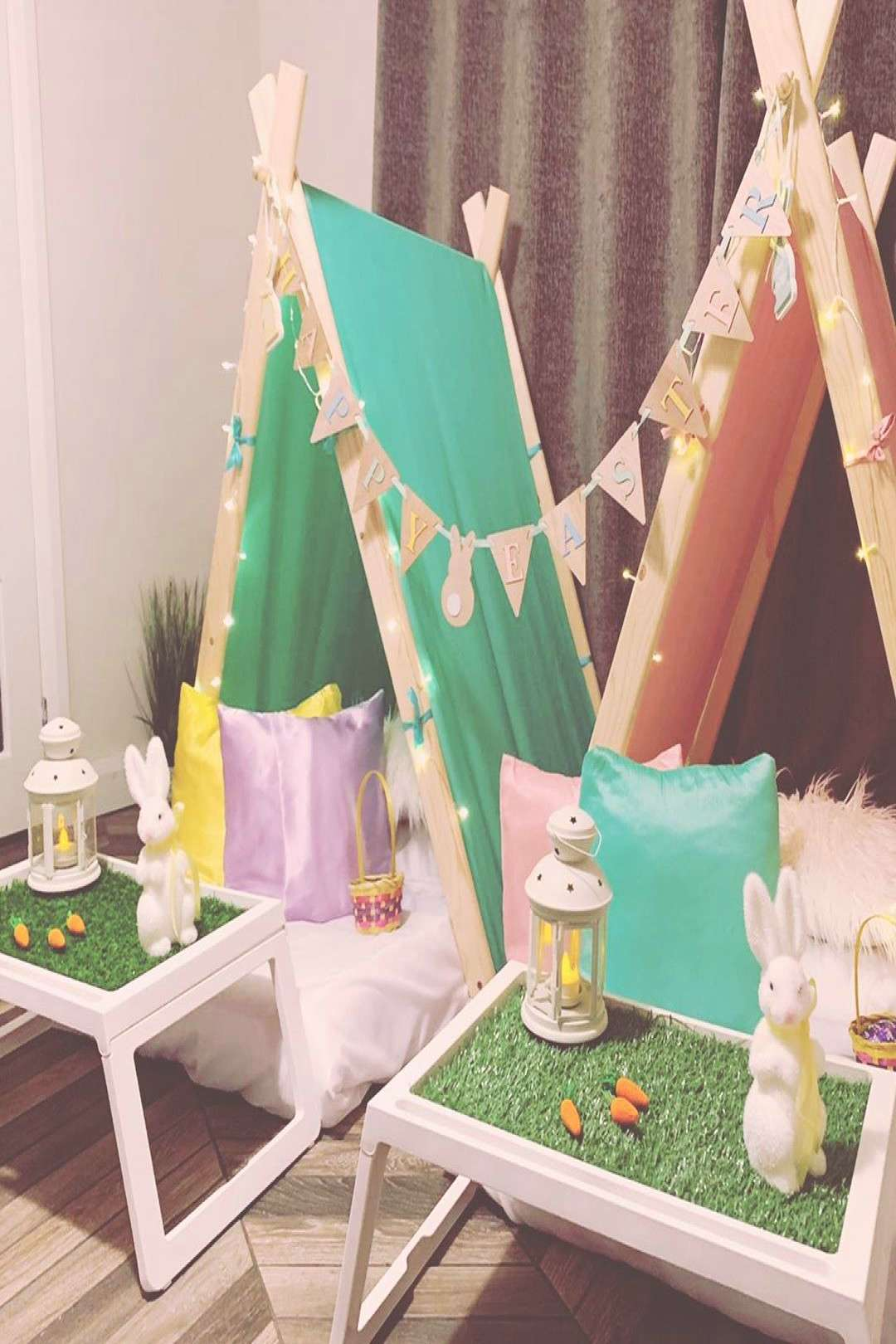 We are now taking bookings for our Easter teepee sleepover partie