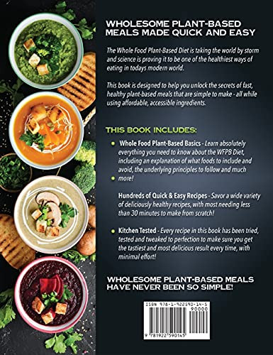 Whole Food Plant-Based Cookbook 365 Days of Super Easy