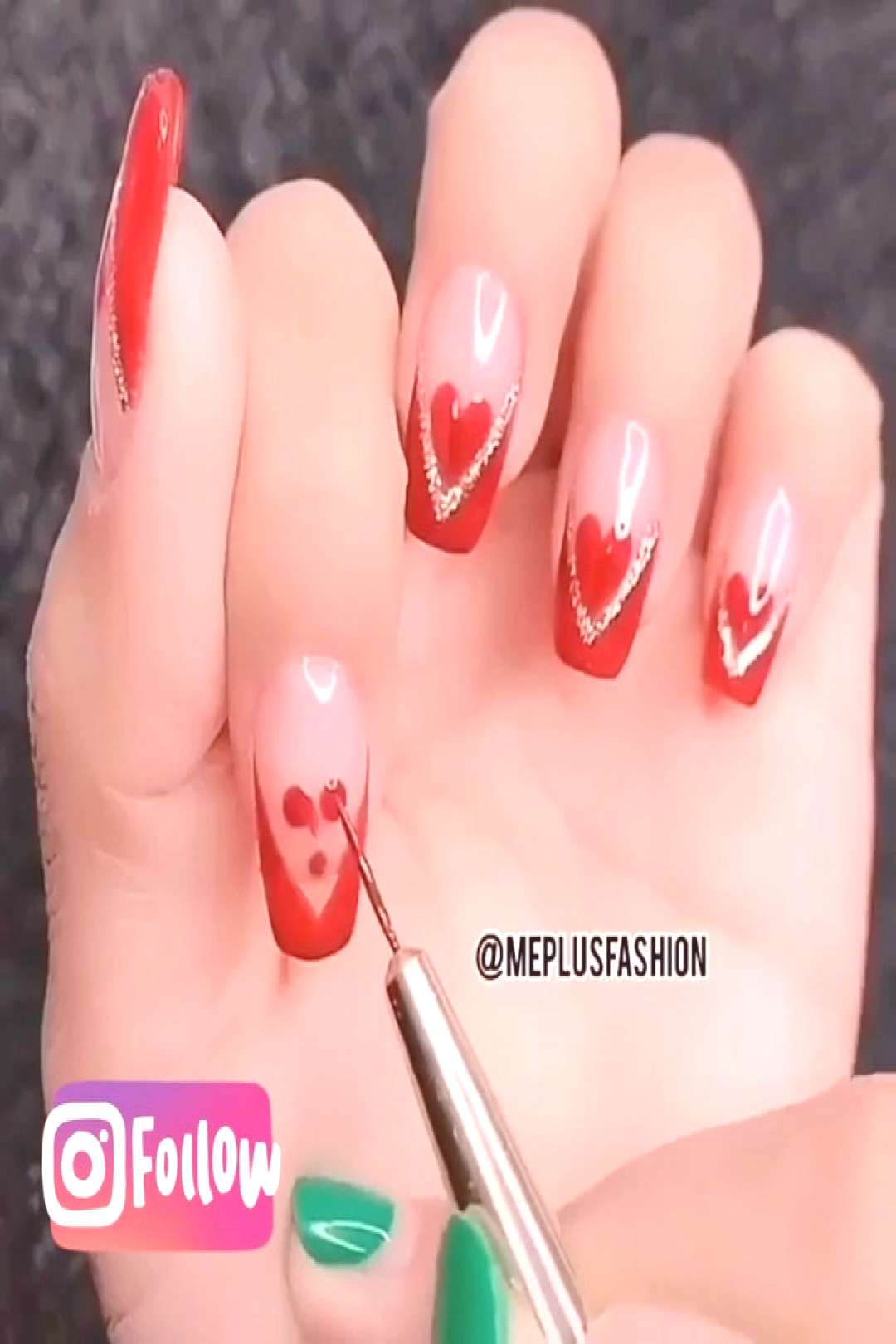 Wow What is your favorite nailshape? Ja quero - Follow me (.right